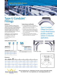 Eaton – Type-U Condulet Fittings