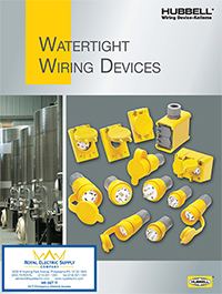Wiring Device-Kellems: Watertight Wiring Devices