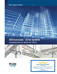 B-Line by Eaton – 4Dimension™ Strut System