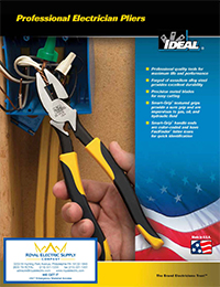 Ideal Professional Electrician Pliers Brochure - Front Page (Thumbnail)