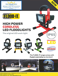Flood-It - High-Power Cordless LED Floodlight Brochure - Front Page Thumbnail