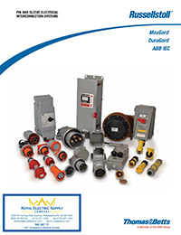 Thomas and Betts - Russelstoll - Pin And Sleeve Electrical Interconnection Systems - Front Page Thumbnail