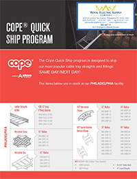 Atkore – Cope Quick Ship Program for Philadelphia
