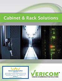 Vericom - Rack Cabinet Catalog - Front Page Thumbnail