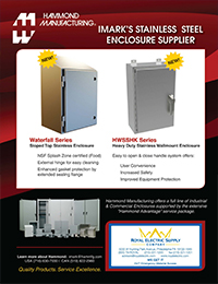 Hammond Manufacturing - Stainless Steel Enclosure Supplier - Front Page Thumbnail