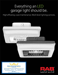 RAB Lighting – LED Porto Garage and Ceiling Lights