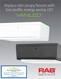 RAB Lighting u2013 VanLED Canopy Lights  sc 1 st  Royal Electric Supply Company & RAB Lighting - VanLED Canopy Lights - Royal Electric Supply Company