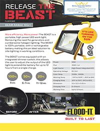 """Flood-It – 50-Watt 4-Hour Flood-It """"Beast"""" Flood Light"""