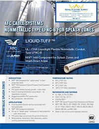 AFC - Liquid-Tuff Splash Zone Non-Metallic Conduit - Front Page Thumbnail