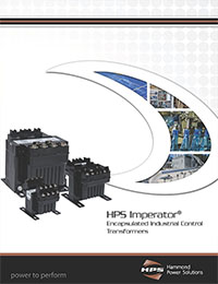 Hammond Power Solutions - Imperator Molded Control Transformer Brochure - Front Page Thumbnail