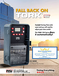 NSI – Tork EW Series Multipurpose Control 7-Day Time Switches
