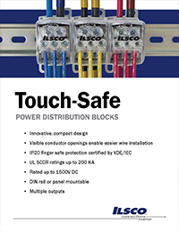 Ilsco – TouchSafe Power Distribution Blocks