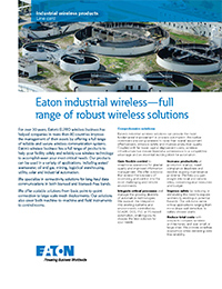 Eaton – Industrial Wireless Solutions