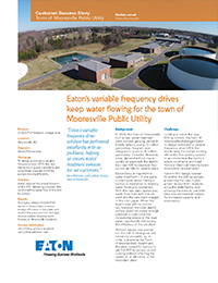 Eaton – VFD Wastewater Customer Success Stories