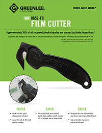 Greenlee – 0652-FC Film Cutter