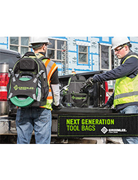 Greenlee – Next-Gen Tool Bags